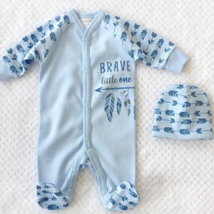 BRAVE LITTLE ONE SLEEPER SET