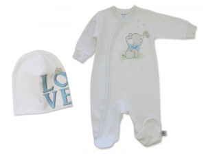 BOW TIE ELEPHANT SLEEPER SET