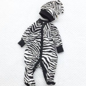 ZEBRA SET FOOTIE