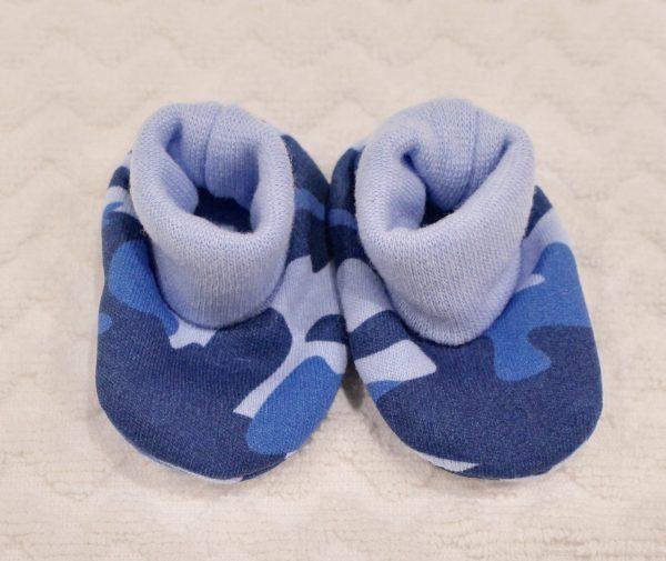 BLUE CAMO BOOTIES
